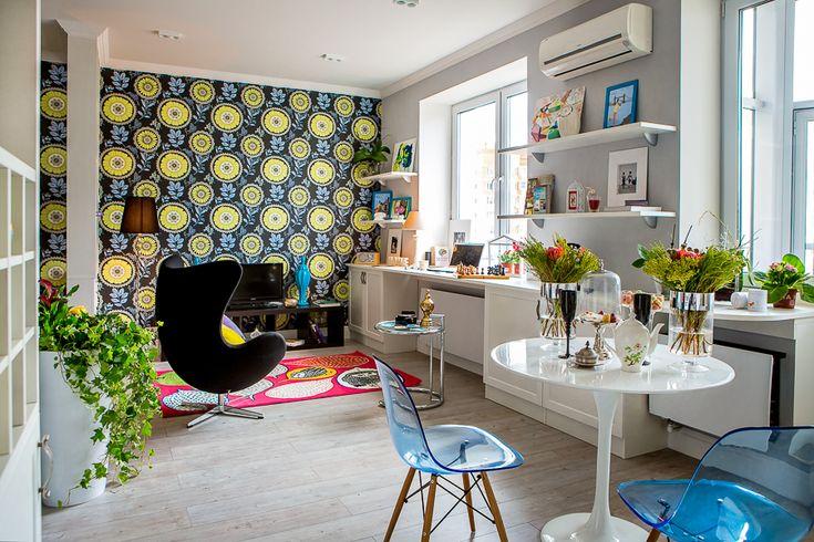 Маленький мир для двоих. Московская однушка от Анны Чеверевой - Дизайн интерьеров | Идеи вашего дома | Lodgers