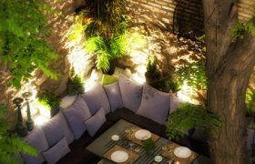 Aleria Restaurant - Αυλή