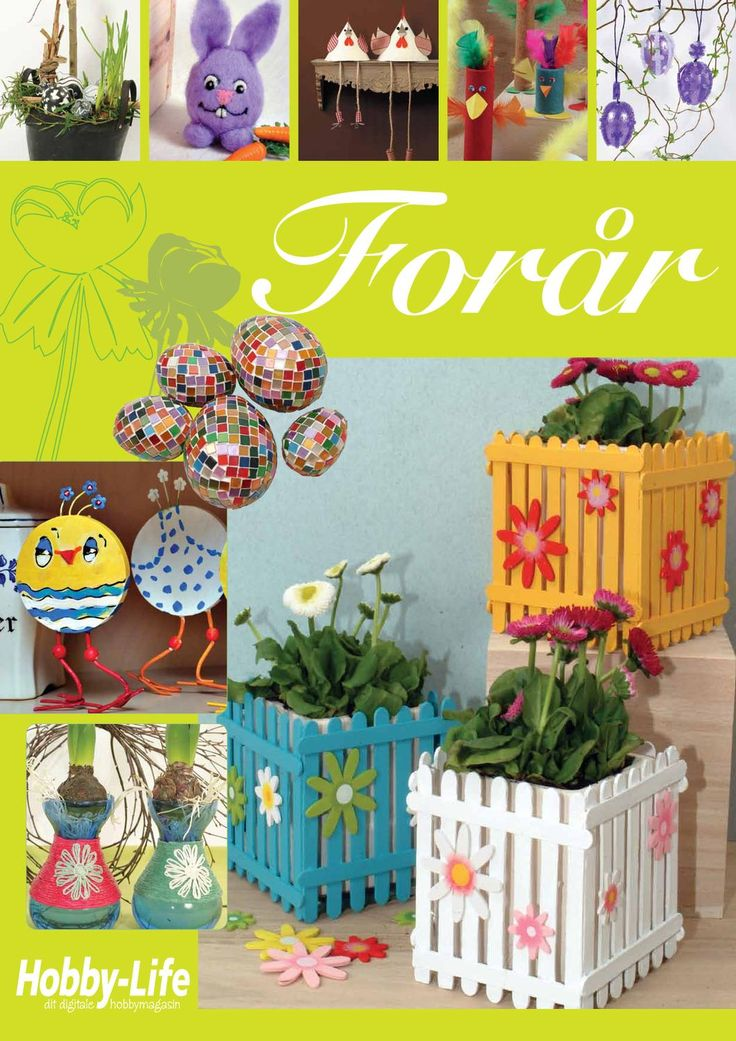 Inspiration til foraar  Gratis temamagasin med forårsideer
