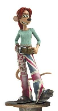Rita from Flushed Away a favorite in our house =)
