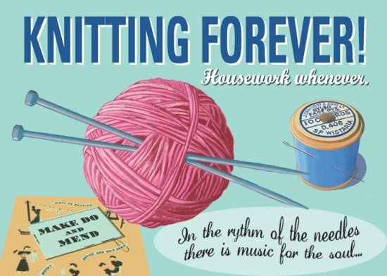Knitting Jokes Posters : Knitting poster by martin wiscombe http wiscombeart