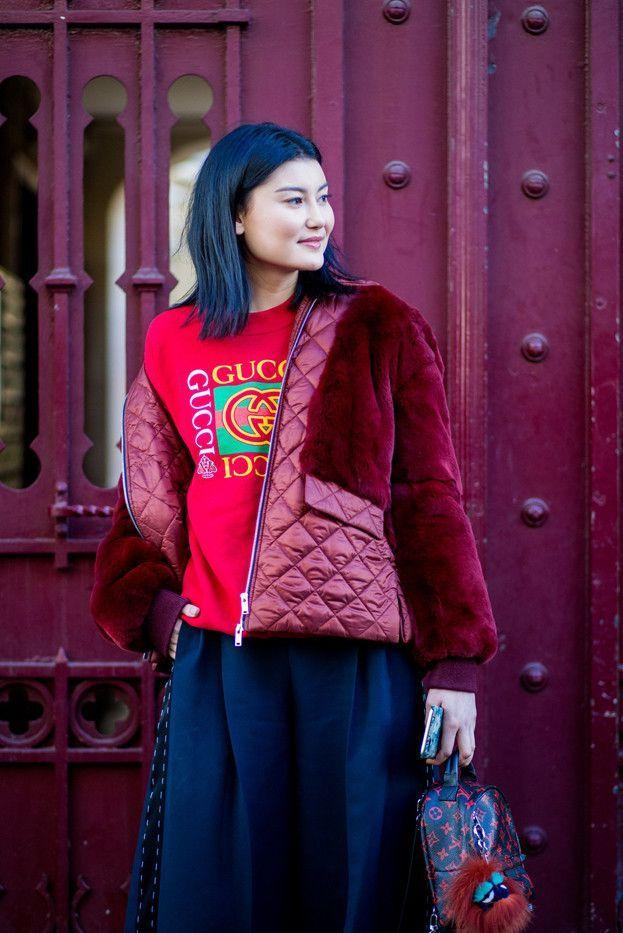 All the Best Street Style From Paris Fashion Week via @WhoWhatWearUK