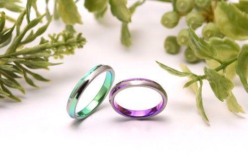 栃木県からお越しのN様ご夫婦が結婚指輪|十日夜をお選び頂きました。ありがとうございます。詳しくは、館林工房スタッフブログ「モダンな結婚指輪♡」でご紹介。