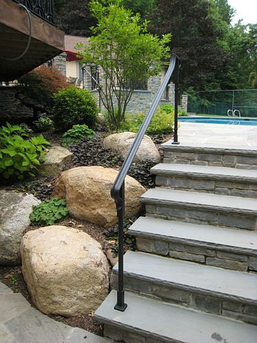 Bluestone Steps Fieldstone Risers Google Search Brick
