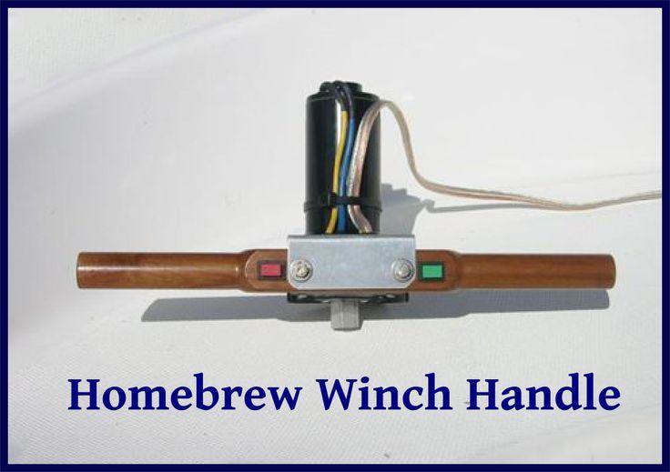 Electric Winch Handles Electric Winch Handle Home Brewing