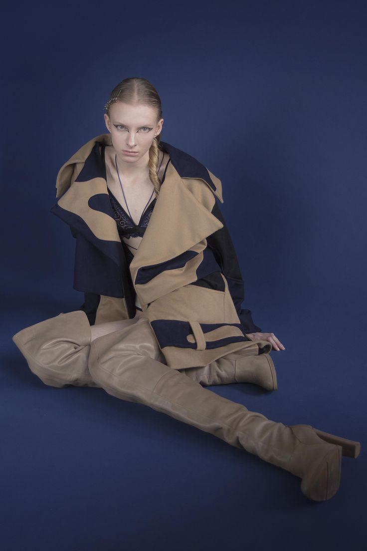 #project #designer #fashion #womenswear #model #style #brand #design #look #women #coat #lingerie #body #lace #camel #wool