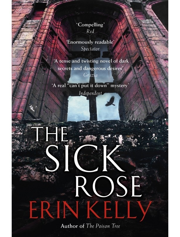 One for thriller fans - The Sick Rose by Erin Kelly is a gripping read, full of dark secrets and set in a crumbling Elizabethan mansion