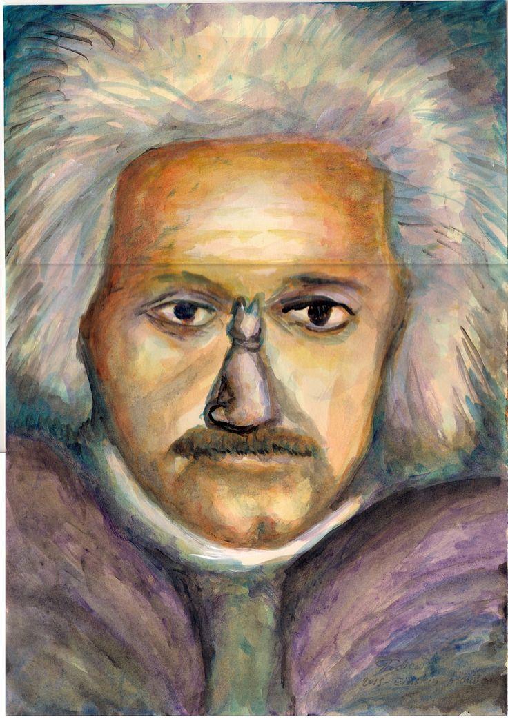 Albert Einstein - atomico (author Gabriel Todica)