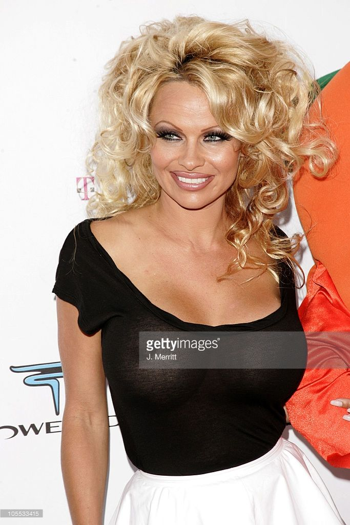 Pamela Anderson during Comedy Central Roast of Pamela Anderson - Arrivals at Sony Studios / Stage 15 in Culver City, California, United States.