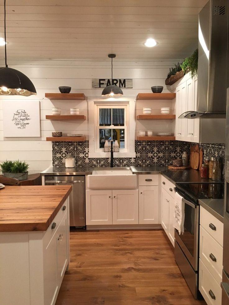 119 Best Floating Shelves Images On Pinterest Kitchen Ideas Kitchen Designs And New Kitchen