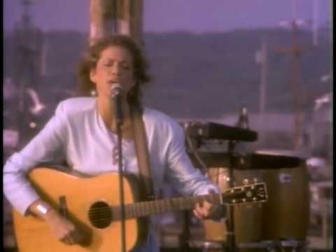 """Carly Simon - """"Anticipation"""" live on Martha's Vineyard. Wikipedia says: """"The song relates Simon's state of mind as she waits to go on a date with Cat Stevens...."""""""