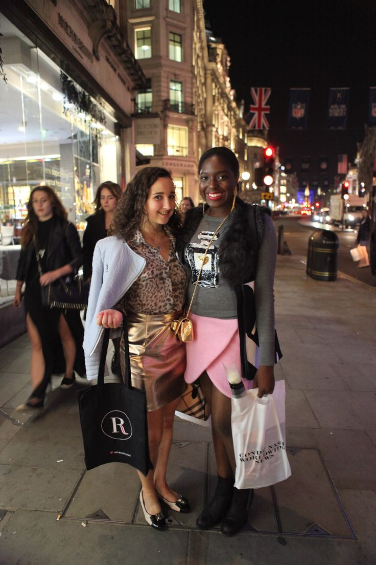 #RegentStreet shoppers taking advantage of the atmosphere and experiences at #FNO.