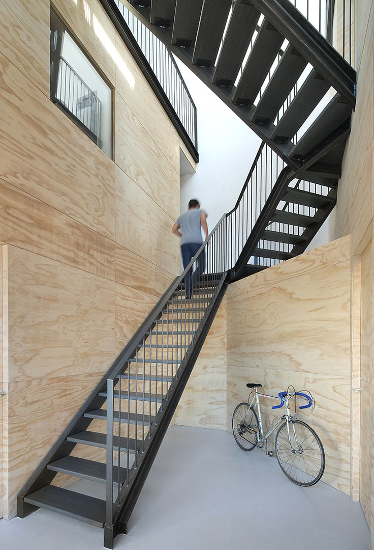 Inside This Wooden, Prefabricated House In Amsterdam By Marc Koehler  Architects, An Angular Black