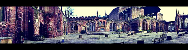 Coventry Cathedral ruins.. from inside out
