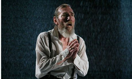King Lear, Young Vic 2009. Pete Postlethwaite's last play before he died. A privilege to see it and a privilege to get to have a conversation with him afterwards in the bar. Incredible actor and an incredibly nice bloke