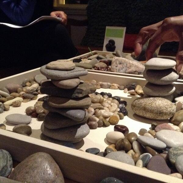 Hawkins Learning -  the balance of rocks via Louise Jupp ≈≈
