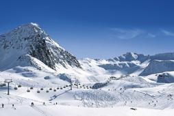 Skiing here in December! #Obergurgl #Austria