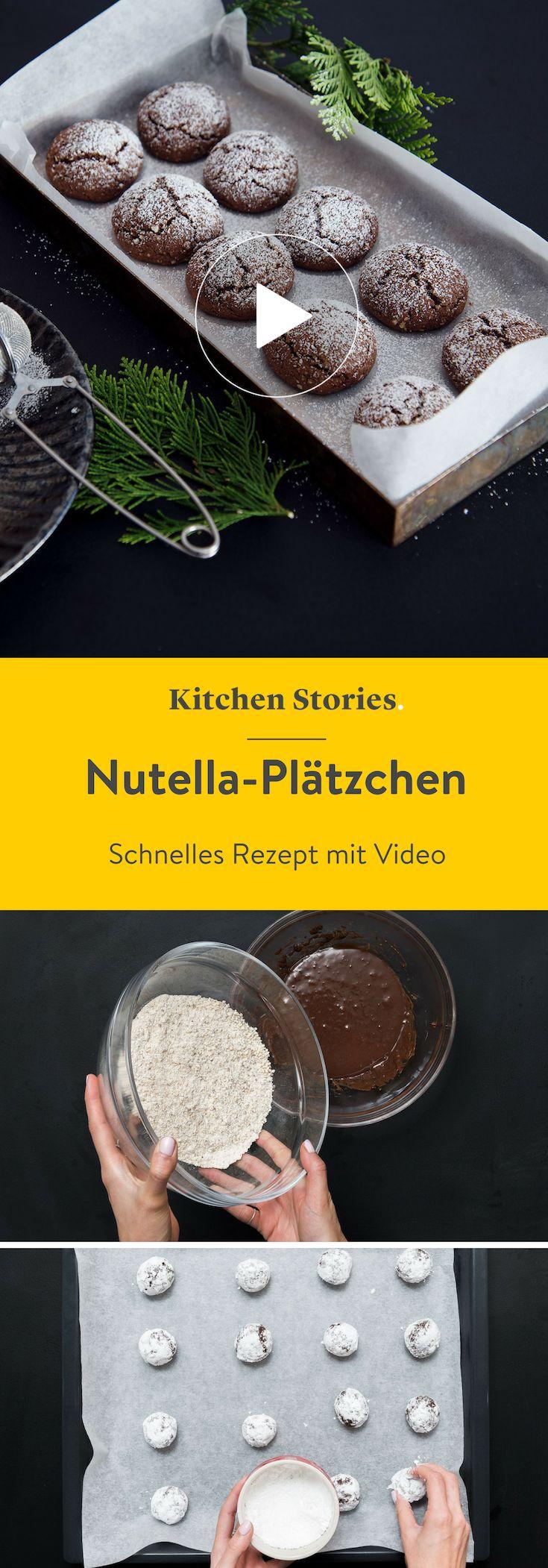 Nutella-Plätzchen   – Kuchen & Kekse