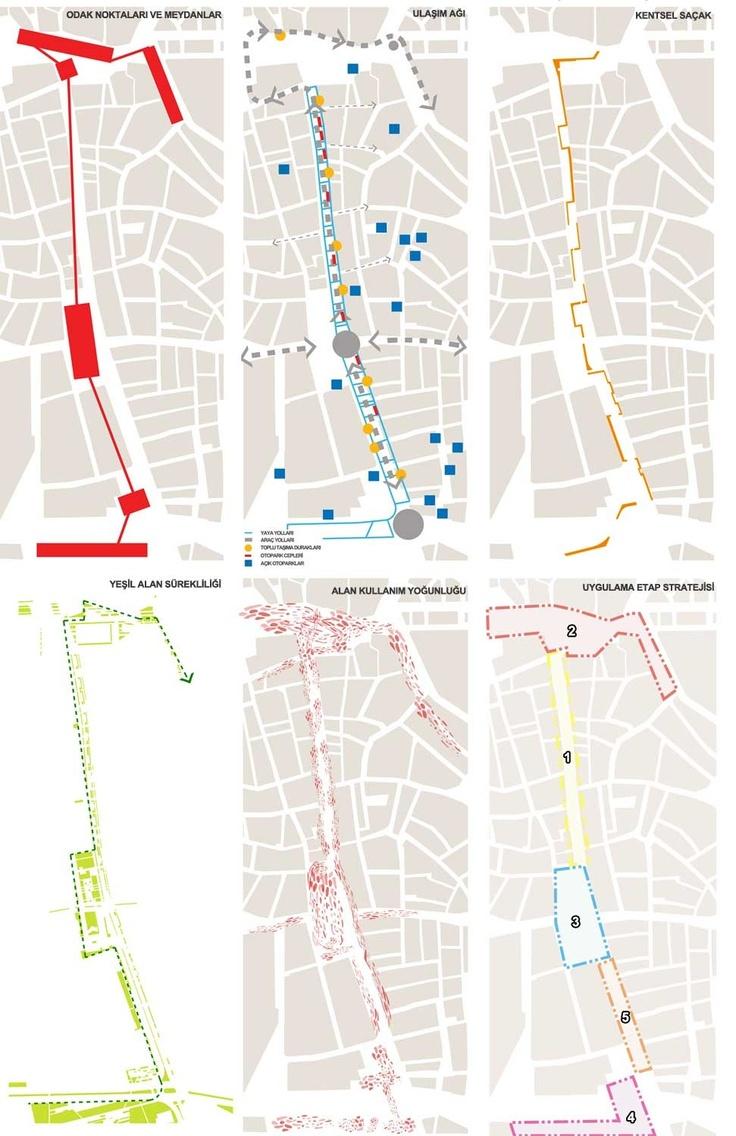 kolokyum.com - Galeri: 4. Mansiyon - Uşak Belediyesi İsmetpaşa Caddesi ve Çevresi Ulusal Mimarlık Kentsel Tasarım Fikir Proje Yarışması
