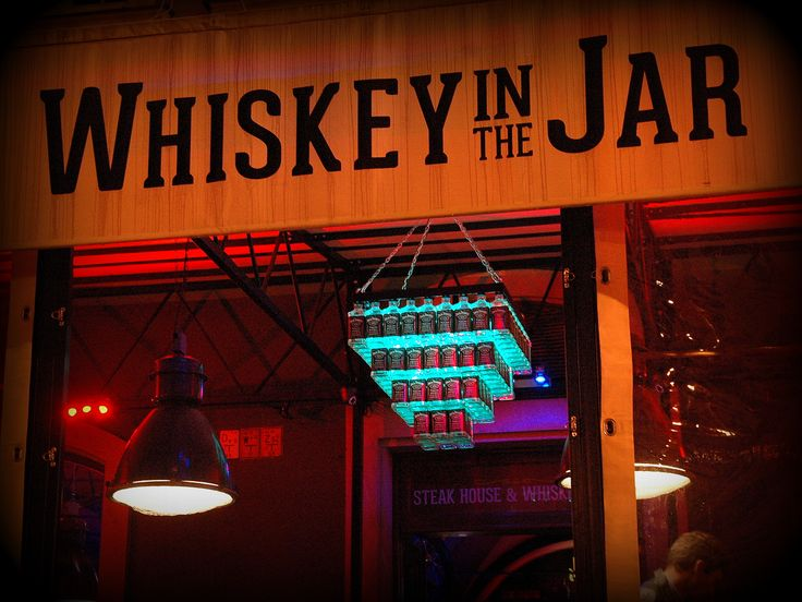 Our first project for Whiskey In The Jar in Wrocław, Poland.