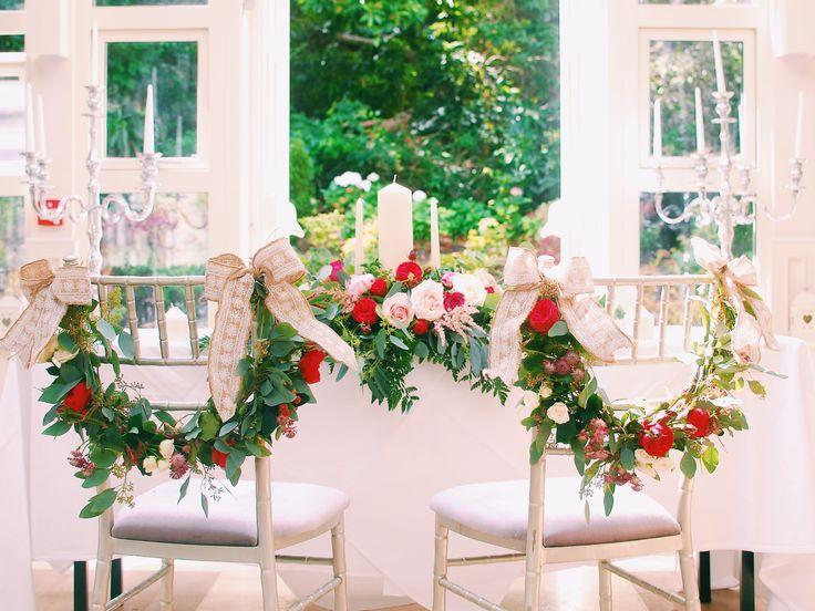 Gorgeous floral decor in The Orangery at a recent Maryborough Wedding. #bridal #weddings #weddingplanning #decor #floral #flowers #summer