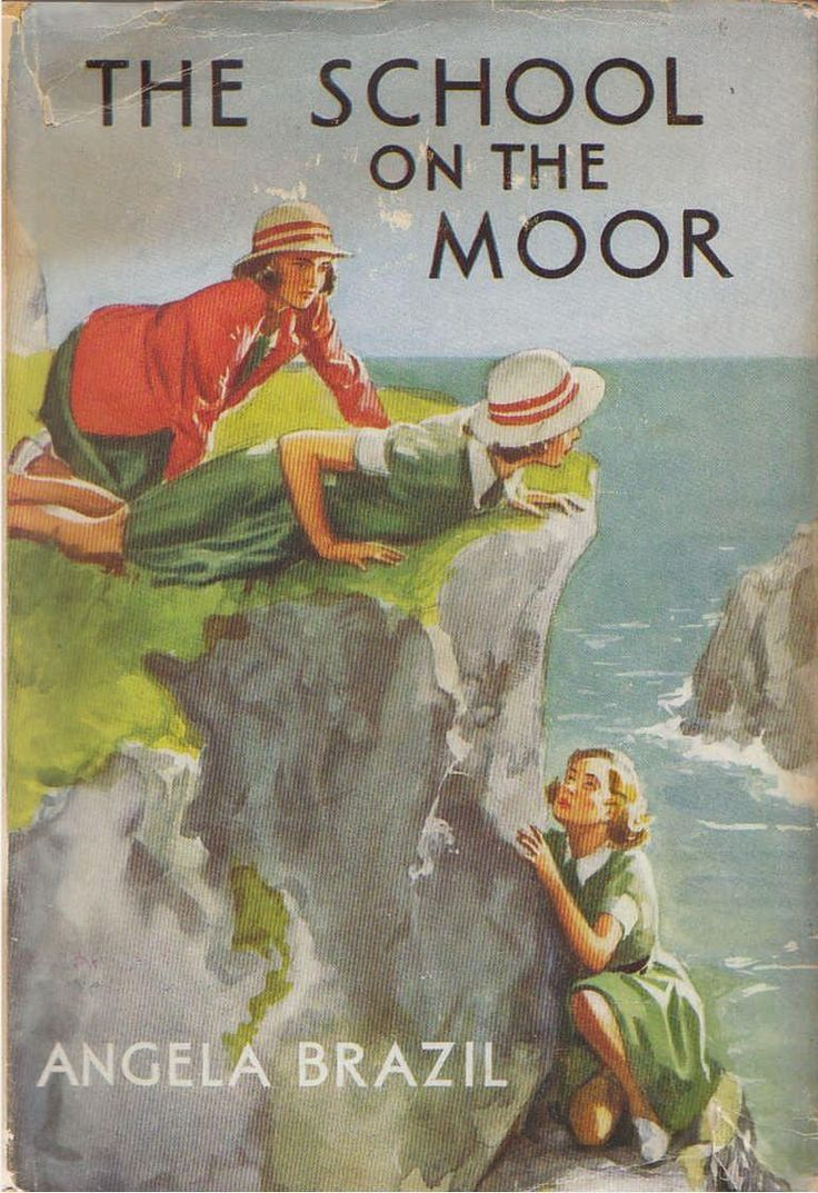 Angela Brazil's The School On The Moor From 1939