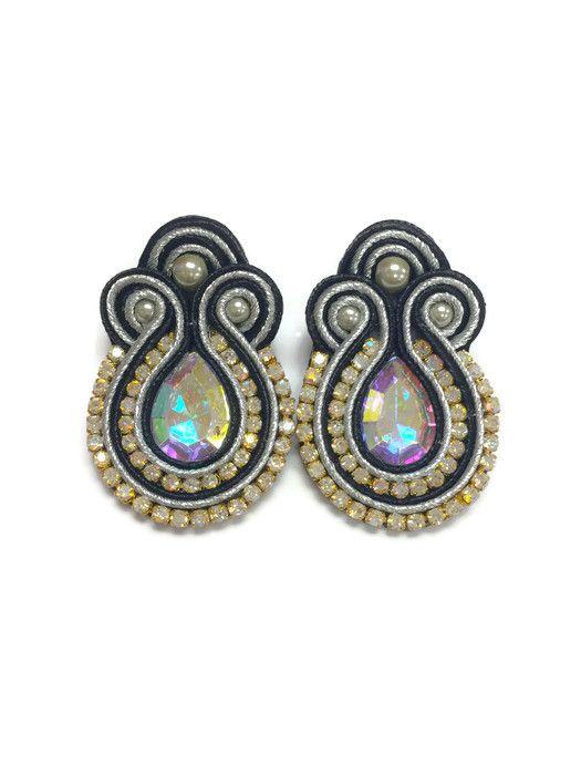 Tuti E24 Soutache Earrings