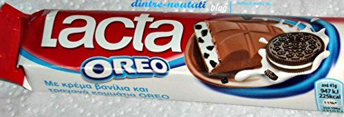 Great Lacta Bar Cream'n'oreo - Greek Chocolate, ,