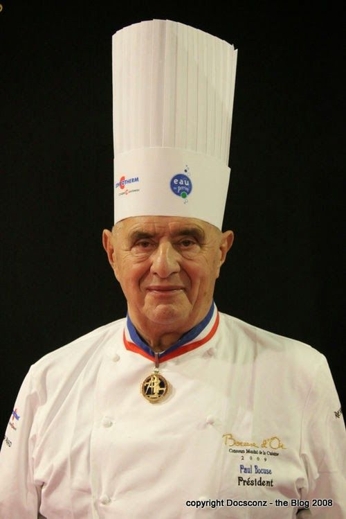 Cooking the chef: Abril: Paul Bocuse ... Vuestros Platos