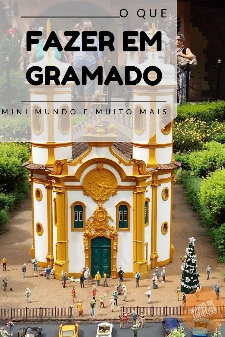 Atrações que visitamos em Gramado: Mini Mundo, Museu do Automóvel, Lago Negro e Aldeia do Papai Noel