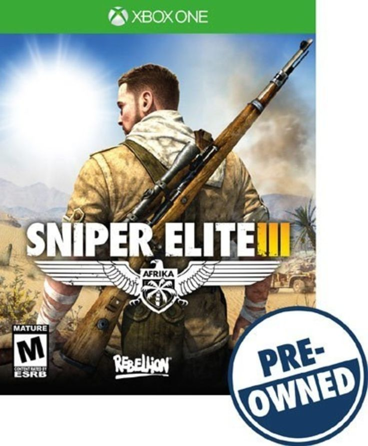 Sniper Elite III: Afrika - PRE-Owned - Xbox One, PREOWNED