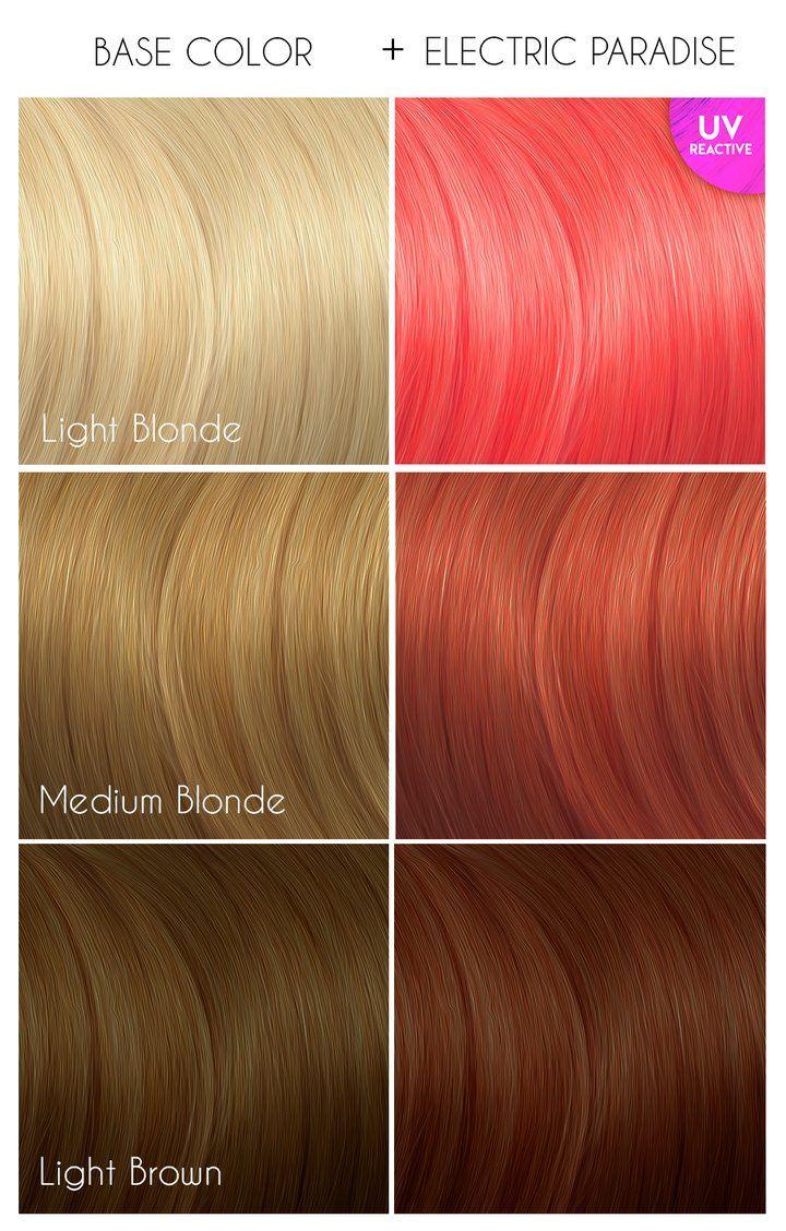 Electric Paradise Uv Reactive In 2020 Arctic Fox Hair Dye Dyed Hair Fox Hair Dye