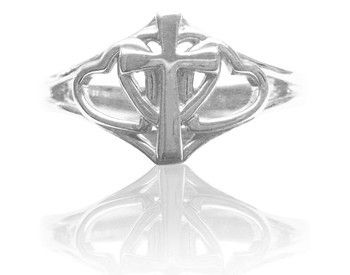 Covenant Hearts Christian Purity Ring in Sterling Silver – PurityRings.com
