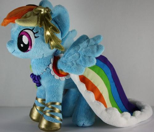 Rainbow Dash Galloping Gala Custom Plush My Little Pony Friendship Is Magic | eBay
