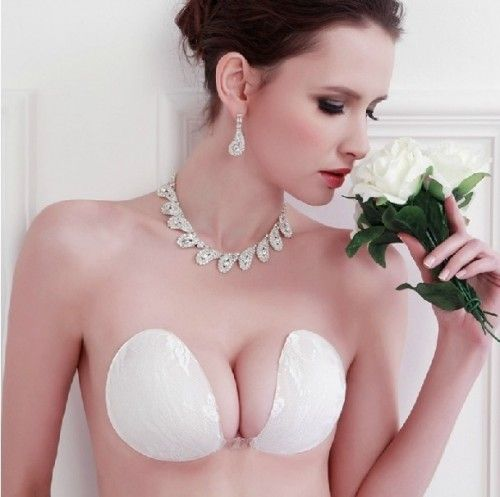 Keep your look classy with that perfect bra for your backless wedding gown.