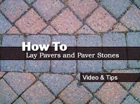 1000 Ideas About Paver Stones On Pinterest Fence
