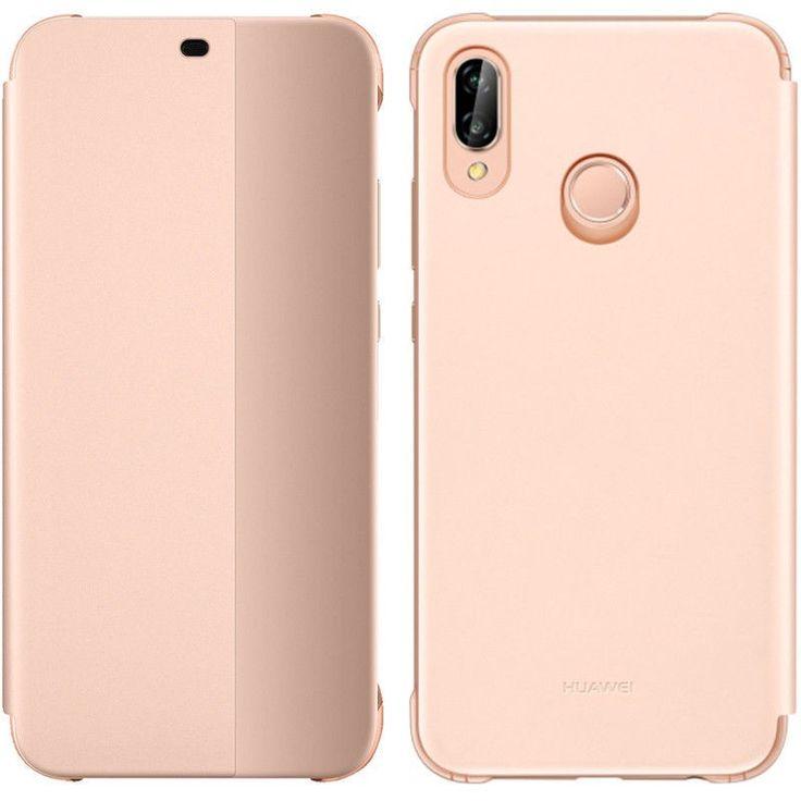 Original Huawei P20 Lite Smart View Cover Flip Case Tasche Schutzhulle Hulle Pink Neu Los Originales Popsockets Carcasas