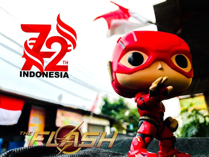 Happy Independence Day Indonesia #justiceleague #funko #popvynil #popphotography #indonesia #independenceday