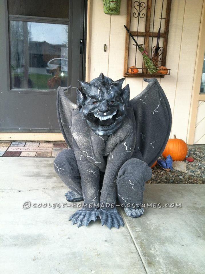 Cool Gargoyle Costume... Coolest Homemade Costume Contest