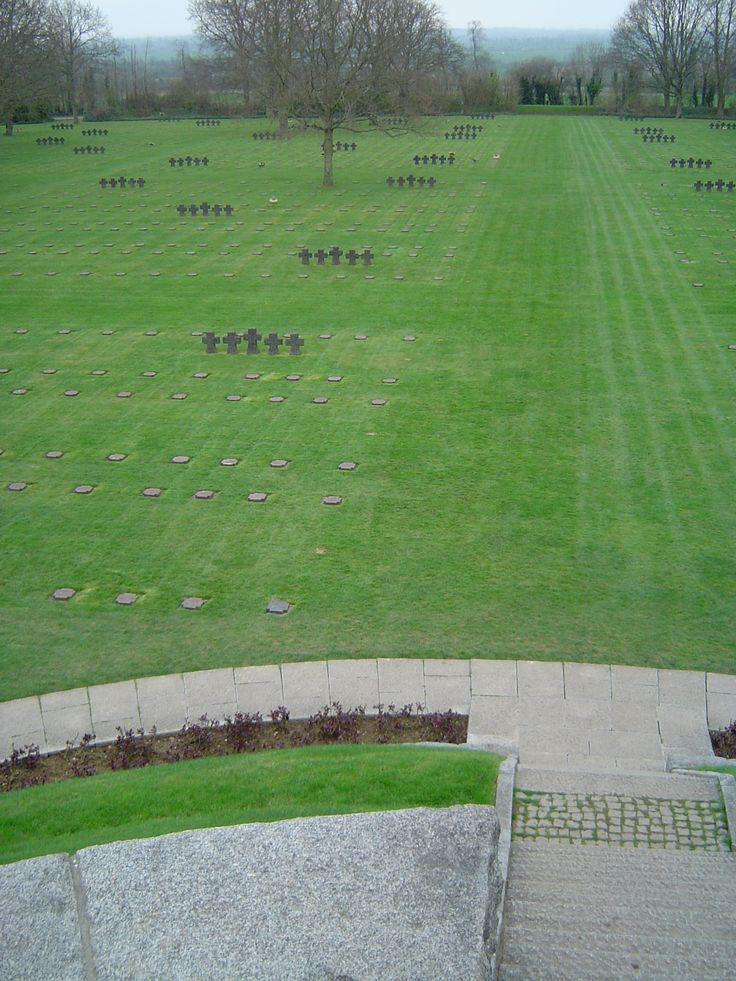 La Cambe German War Cemetery/Deutscher Soldatenfriedhof in La Cambe, Basse-Normandie