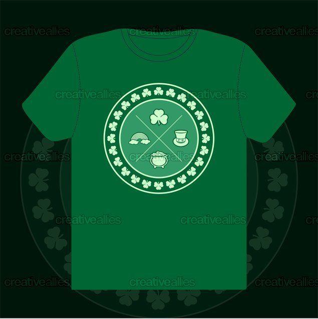 Modern+Day+St.+Patrick+T-Shirt+by+amo++on+CreativeAllies.com