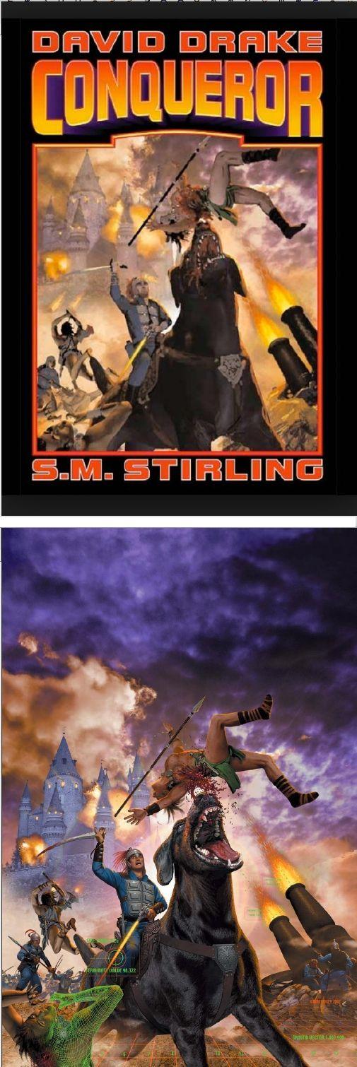 DAVID B. MATTINGLY - Conqueror by David Drake & S. M. Stirling - 2003 Baen Books - cover by isfdb