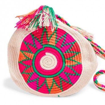 Guanábana Flower Wayuu Bag