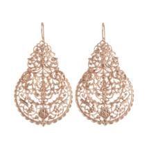 I A M by ILEANA MAKRI Rose Gold Marrakesh Earrings