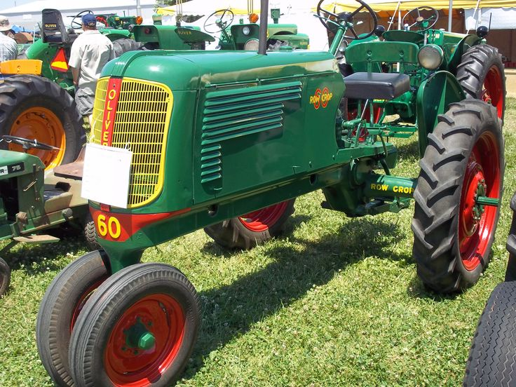 oliver 60 engine painting pic  oliver  tractor engine and