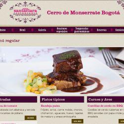 Ordering Food in Spanish: Casa Santa Clara Restaurant Menu Example