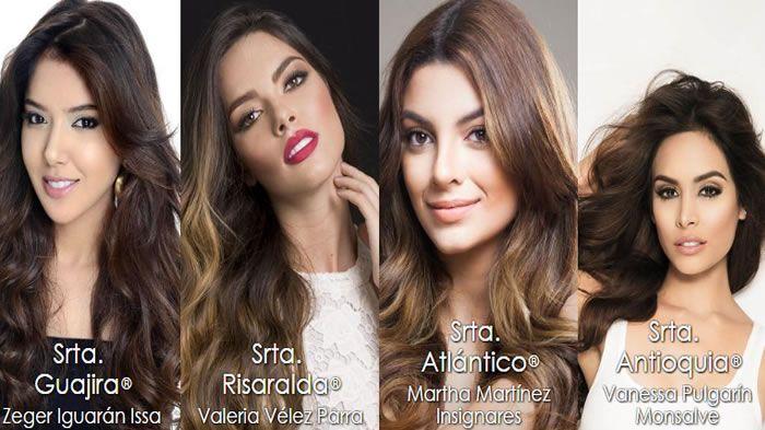 Señorita Colombia: Vota aquí por tu favorita - Belleza - Colombia.com