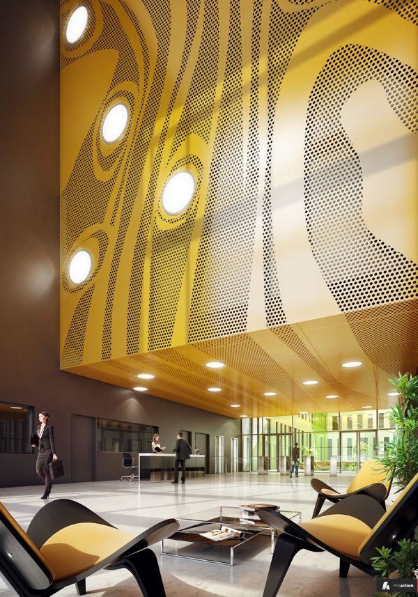 Professional Works CG Architecture _ Part 2 by Romuald Chaigneau, via Behance