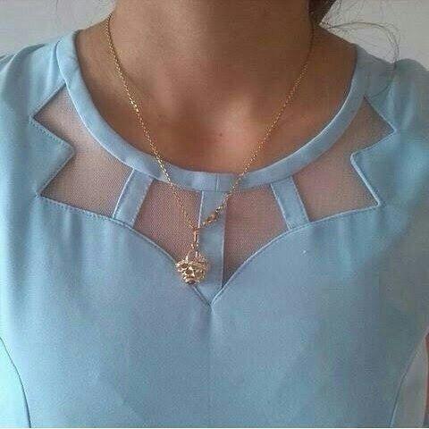 Diseño en blusa o vestido
