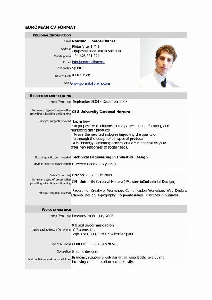 Resumes Free Download Pdf Format Fresh Resume Templates Word Free Resume Template Download Pdf Basic Resume Format Cv Format Standard Cv Format